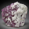 Fluorite and Calcite Crystals, Anhui Province, China